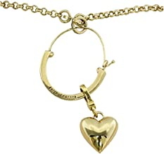 Juicy Couture Starter Charm Holder Necklace wit Puffy Heart Charm