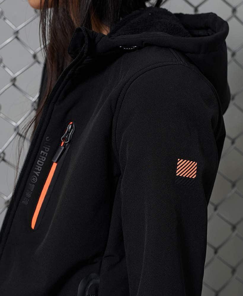 Superdry Arctic Jacket Veste Soft Shell Arctique Femme