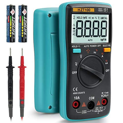 HASAGEI Multimeter Voltage Meter Built-in High-precision Smart Chip Can Accurately Measure Voltage,...