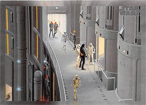 Chewbacca Prisoner Concept Art trading card Star Wars 2017 Topps Forty #189 Ralph McQuarrie