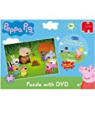 Peppa Pig Puzzle and DVD