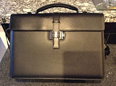 a75bd832b Montblanc Single Gusset Brown/Camel Leather Briefcase 9559, 4810 Westside  Collection