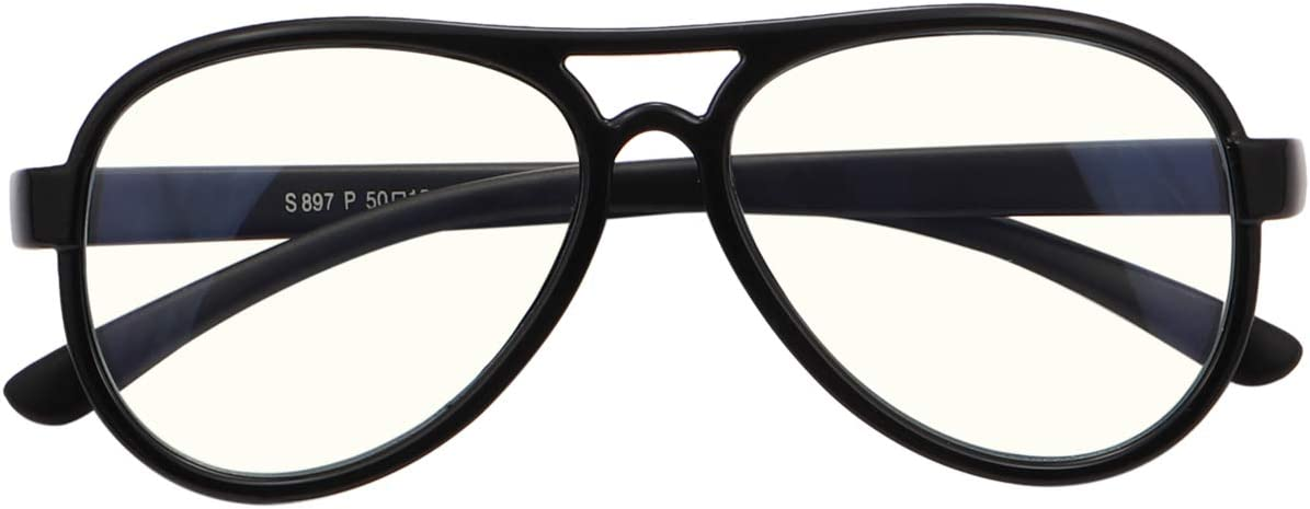 Limited time cheap sale Fuaisi Children Charlotte Mall Anti Blue Light TR90 Frame Silicone Mate Glasses