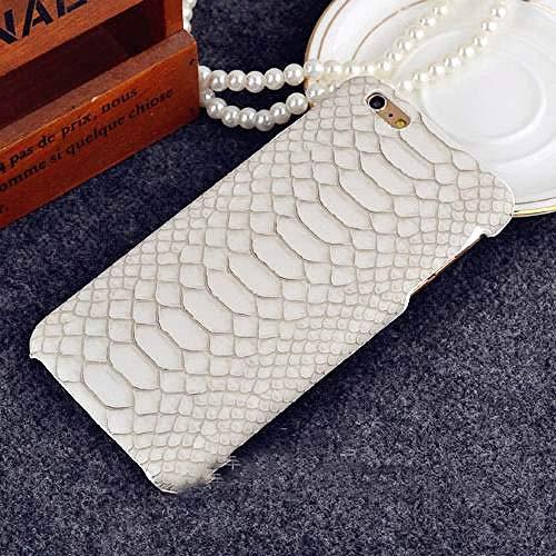 KNGYUTF telefoonhoes krokodilvorm telefoonhoes voor iPhone 5 5 5 s SE 6 6 s 7 8 Plus x XR xs max hard plastic beschermhoes telefoon achterkant afdekking geschenk Für iPhone 5 5s SE wit