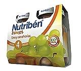 Nutribén Zumo UVA y Zanahorias - 2 paquetes de 130 ml