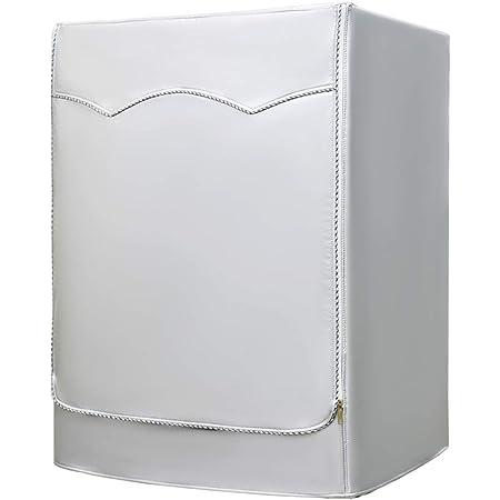 Housse pour lave-linge et sèche-linge à chargement frontal AKEfit, imperméable, argent, Silver, 23'W×25'D×33'H
