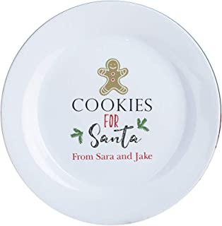 Best personalized cookies for santa plate Reviews