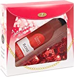 Rose Wine and Chocolate Gift Set for Women -