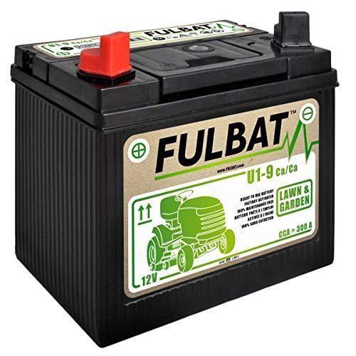 Batería Fulbat U1-9 para tractor cortacésped 12 V 28 Ah