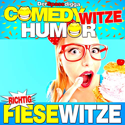 Comedy Witze Humor - Richtig fiese Witze Titelbild