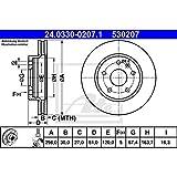 Ate 24.0330-0207.1 Rotores de Discos de Frenos, Set de 2