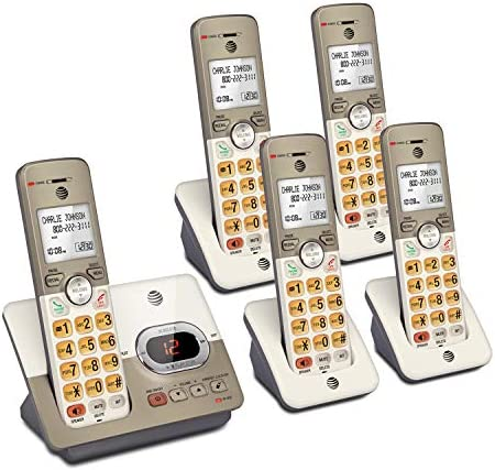 AT T EL52513 5 Handset Expandable Cordless Phone with Answering System XL Backlit Keys product image