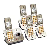 AT&T EL52513 5-Handset Expandable Cordless Phone with...