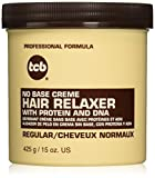 TCB No Base Creme Hair Relaxer, Regular, 15 Ounce