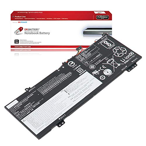 DR. BATTERY Laptop Battery for Lenovo Flex 6-14IKB 2ICP4/41/110-2 5B10Q16066 5B10Q16067 L17C4PB0 L17M4PB0 [7.68V/5730mAh/44Wh]