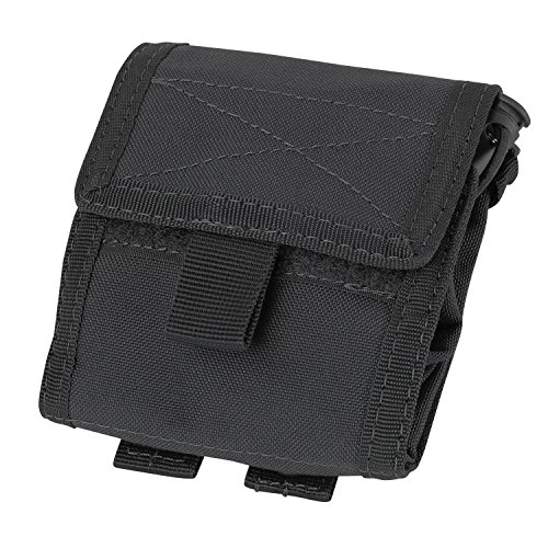 Condor Roll- Up Pouch (Black, 4.5 x 5-Inch)