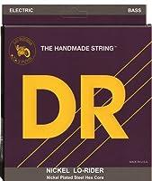 DR Strings Nickel Lo-Rider - Nickel Plated Hex Core 6 String Bass 30-125 [並行輸入品]