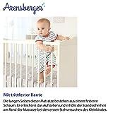 Arensberger ® Kindermatratze Stella, 70 x 140cm, Höhe 10cm, Abnehmbarer Bezug, punktelastischer Komfortschaum, wendbar, RG 25 kg/m³ - 4