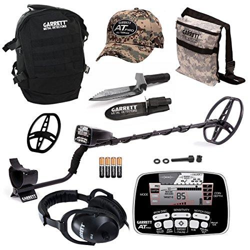 Garrett AT Pro Waterproof Metal Detector with Edge Digger & Accessory Bonus Pack