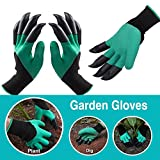 Garden Gloves with Fingertips Claws Quick– Great for Digging Weeding Seeding poking -Safe for Rose Pruning –Best Gardening Tool -Best Gift for Gardeners