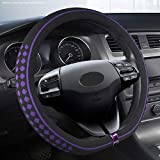 2019 Beijing Hyundai Motor COPRIVOLANTE X35i Xinlang Moving Ix25 Nome Torino IX45 Cavo Otto 8 (Color : Purple)