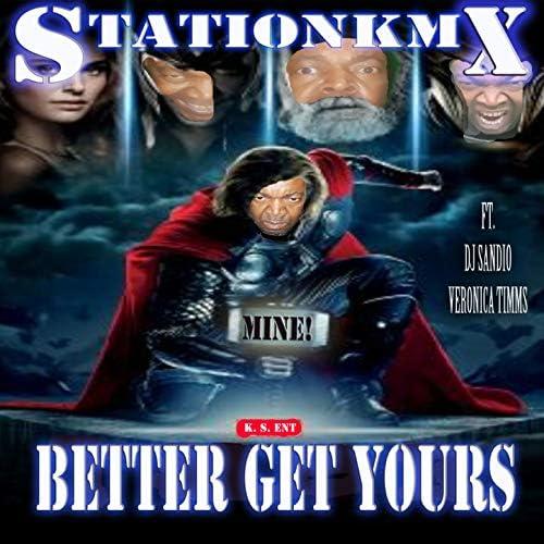 STATIONKMX, KMX & Kevin Spicer feat. DJ Sandio & Veronica Timms