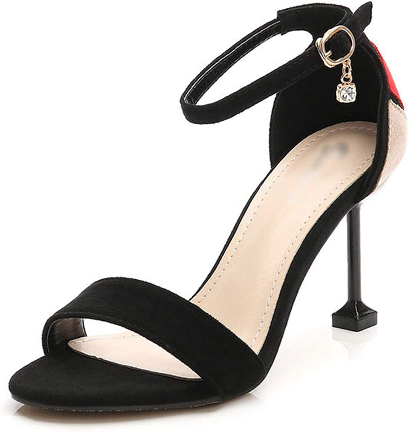 Kyle Walsh Pa Women Sandals Pumps Ankle Strap Open Toe Stiletto Ladies Casual Spring Summer shoes