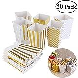 NUOLUX ポップコーンボックス ポップコーン袋 カップ キャンディー容器 紙袋 使い捨て食器 映画館 学園祭 パーティー 業務用 家庭用