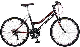 Benotto Bicicleta Montaña Florida R24 21v Mujer Aqua Freno V