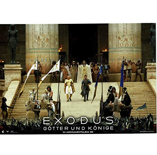 Exodus: Götter und Könige - Sigourney Weaver - 8 Aushangfotos - 21x29cm (524)
