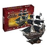 3D立体パズル 海賊黒ひげのクイーン・アンズ・リベンジ号