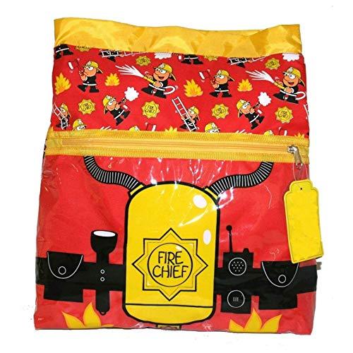 Bugzz - Sac de sport pour enfant Thème Pompier - Waterproof