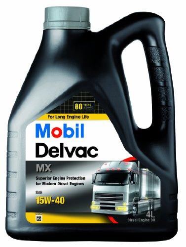 Mobil 148370 Mobil Delvac MX 15W, 4 Liter