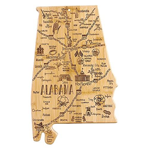 Totally Bamboo Destination Alabama State Shaped...
