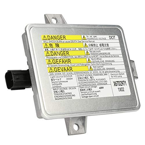 TTIIHOT Compatible with HID Xenon Headlight Ballast Mazda 3, Acura TL, TSX, Honda S2000 - Replaces 33119-S0K-A10,33109-S0K-A02, W3T10471, W3T14371 - HID Ballast Headlight Control Unit Module