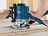 Bosch Professional Oberfräse GOF 1250 CE (Maulschlüssel 19 mm, Parallelanschlag mit Feineinstellung, Kopierhülsenadapter, Spannzange, L-BOXX 238) - 3