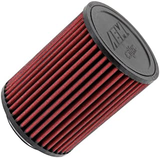 AEM 21-2036DK Universal DryFlow Clamp-On Air Filter: Round Straight; 3 in (76 mm) Flange ID; 6.5 in (165 mm) Height; 5 in (127 mm) Base; 5 in (127 mm) Top