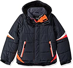 LONDON FOG Boys' Big Active Puffer Jacket