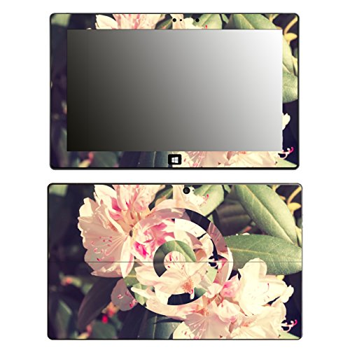 'Disagu SF 105352_ 1057Designer Skin Case Cover For Microsoft Surface Pro 2–Rhododendron Geomerisch Clear