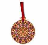 Rosie Parker Inc. Mandala Gems - Rosie Parker Inc. Flat Round-Shaped Hardboard Hanging