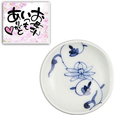 CtoC JAPAN 母の日 カード付 丸箸置 帯花唐草・ No643203 日本製 母の月 母の日ギフト