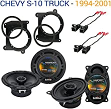 Compatible with Chevy S-10 Truck 1994-2001 OEM Speaker Upgrade Harmony R46 R65 Package New