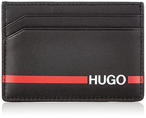 HUGO Herren Austen RL_S Card Reisezubehör-Brieftasche, Black1, OneSize
