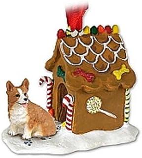 Best Conversation Concepts Welsh Corgi Gingerbread House Ornament - Pembroke Review