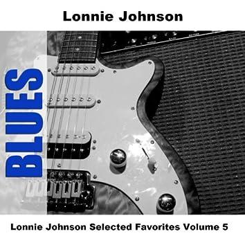 Lonnie Johnson Selected Favorites, Vol. 5