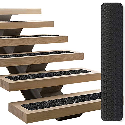 """LINCONSON Black Slip Resistant Stairs Tread Grip Tape 