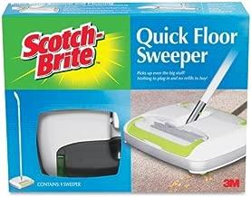 Wholesale CASE of 5 - 3M Scotch Quick Floor Sweeper-Quick Floor Sweeper,Rubber Blades,Rubber Bumper,White
