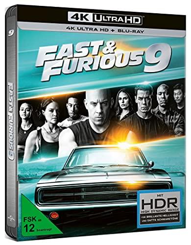Produktbild von Fast & Furious 9 - Limited Steelbook (4K UHD + BD) [Blu-ray]