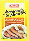 Adolph Steak Sauce Tenderizing Marinade, 1-Ounce (Pack of 8)