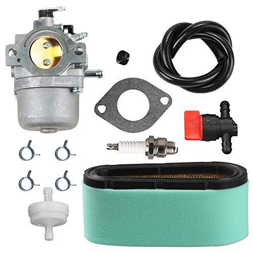 Panari 799728 Carburetor + 496894S Air Filter Tune Up Kit for 498027 498231 499161 494502 494392 495706 498134 Craftsman Murray Lawnmower Lawn Mower